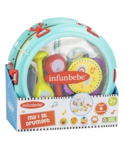Infunbebe My Drum Set (6 instruments)
