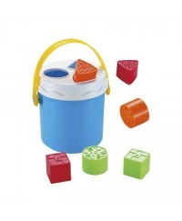 Infunbebe Shape Sorting Bucket (9blocks)