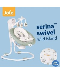JOIE Serina Swivel Swing Wild Island up to 13kg