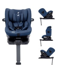 JOIE I-Spin 360 Isofix Carseat Deep Sea  0-19kg(Free Premium Seat Protector)