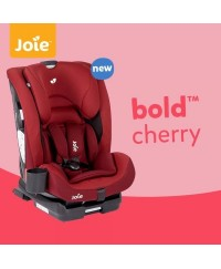 JOIE Bold Booster Car Seat For 9 Months-12 Years - Cherry(9kg-36kg)