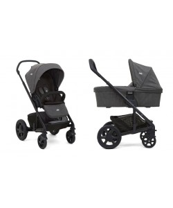 Joie Chrome DLX Pushchair + Carrycot inc Footmuff - Ember