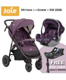 Raya Special * JOIE Mytrax Travel System + Free I-base