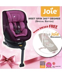 RAYA SPECIAL ** JOIE Spin 360 Isofix Lilac (Special Edition)