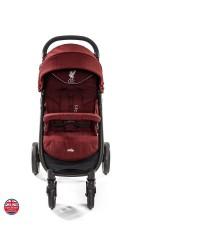 JOIE Litetrax 4 Flex LFC Stroller - Red Liverbird