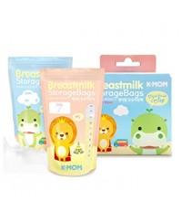 K-Mom Breastmilk Storage Bags 20pcs (200ml)