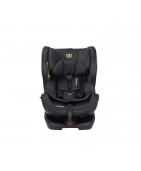KOOPERS LUCAFIX ZIP - BLACK ( with Isofix ) Free seat protector