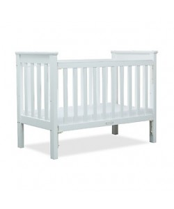 Koopers Verona 4-in-1 Baby Cot (White Cot Only)