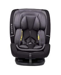 Koopers Vinofix  Convertible Car Seat (0-12Years) - BLACK (Free seat protector)