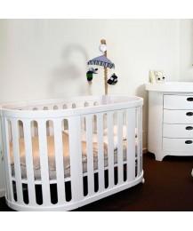 Gelite - Grace 4-in-1 Baby Cot (White)