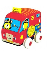 K's Kids Fire Engine Pull Back Auto