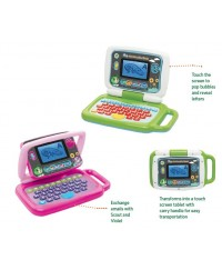 Leap Frog 2-in-1 LeapTop Touch™ ( Scout / Violet)