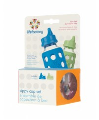 Life Factory Sippy Cap Set 2-pack