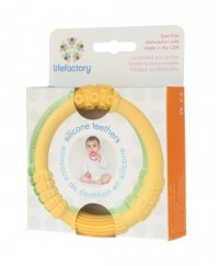 Life Factory Silicone Ring Teethers Dual Pack