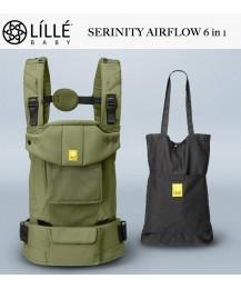 LÍLLÉbaby Airflow 6 in 1 Position 360° Ergonomic Baby and Child Carrier  -  Serinity Artichoke