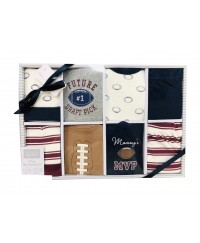 Hudson Baby Gift Box Set 8pcs - Happy Camper