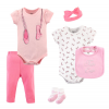 Little Treasure Clothing Set - Little Ballet 6pcs Set