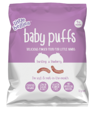 Little Bellies Baby Puffs Blueberry