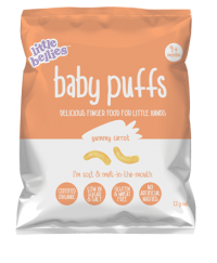 Little Bellies Baby Puffs Carrot