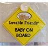Luvable Friends Baby On Board (1 pcs)