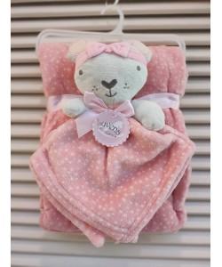 Luvena Fortuna Fleece Blanket & Comforter - Mitty