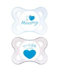 MAM Twin Pack Original 2-6 Months Pacifier