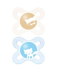MAM Twin Pack Start 0-2 Months Pacifier