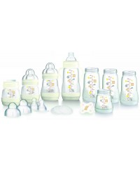 MAM GIft Set - Bottles/Teats/Brush/Soother 15pcs