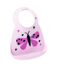Make My Day Baby Bibs -   Butterfly