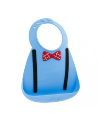 Make My Day Baby Bibs - Scholar Blue