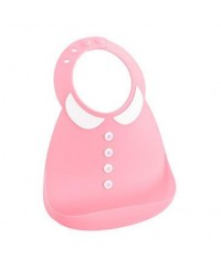 Make My Day Baby Bibs -  Peter Pan Pink