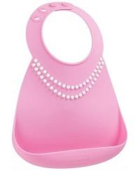 Make My Day Baby Bibs -   Breakfast At Moms Pink