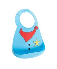 Make My Day Baby Bibs -  Sheriff