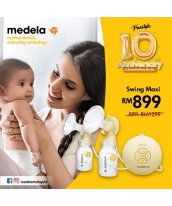 Medela Swing maxi double electric Breast Pump (PROMOTION)