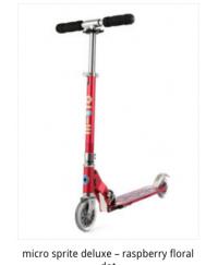 Micro Sprite Deluxe Scooter ( Hold up to 95kg)