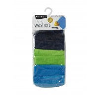 M2M Face Washer 6pk-Boy Mix