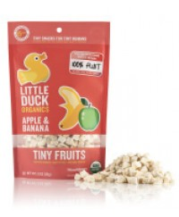 Little Duck Organic Tiny Fruits Apple & Banana