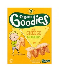 Organix Mini Cheese Crackers