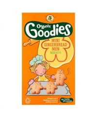 Organix Gingerbread Men Biscuits