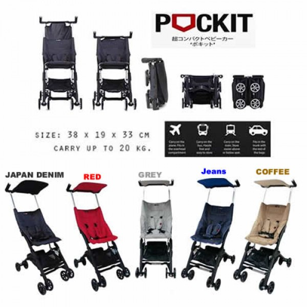 Pockit Smallest Stroller Malaysia The Baby Loft