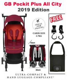 POCKIT+ ALL CITY Stroller 2019 (Free Travel Bag+ 2 x Stroller Hook)