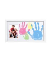 Pearhead Family Handprint Frame