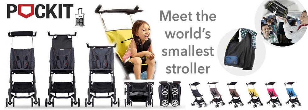 POCKIT World Guiness Smallest Stroller