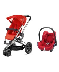 Quinny Buzz Convertible Stroller & CabrioFix( Travel System)