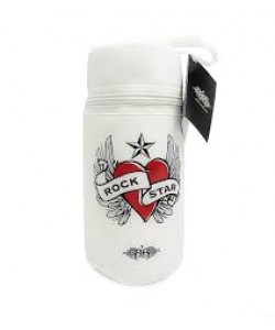 Rock Star Baby Insulated Bottles Tote - Heart & Wings