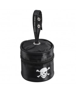 Rock Star Baby Pacifier Bag-Pirate Black