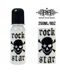 Rock Star Baby Narrow Neck Bottles - Pirate (250ml/8oz)