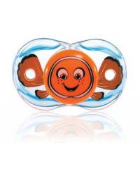 "Razbaby ""Keep-It-Kleen"" Pacifier Finley Clownfish"