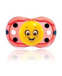 """Razbaby """"Keep-It-Kleen"""" Pacifier Lola Ladybug"""