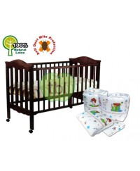 Seni Daya convertible 4 in 1 babycot ( model 865) ~ package